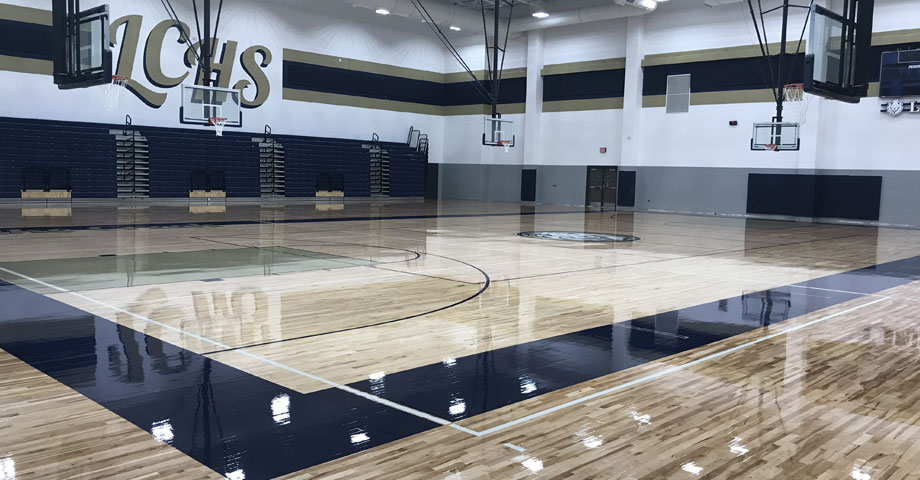 MISD Lake Creek High School Gym