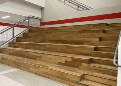Stafford Middle School Learning Stair